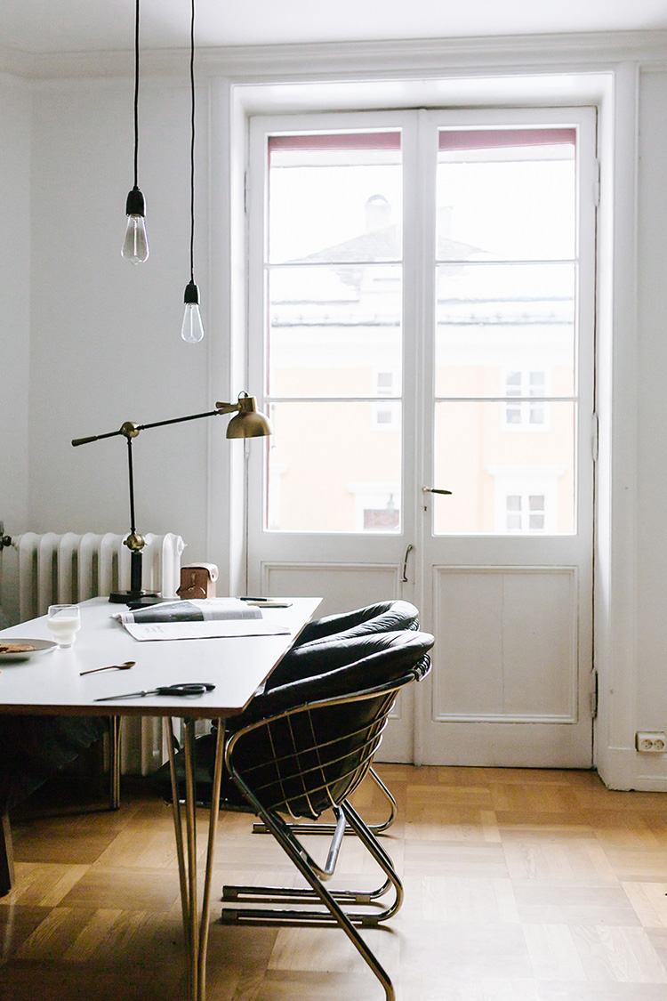 Beautiful home office inspiration to make creative juices flow | Ina K. Andersen