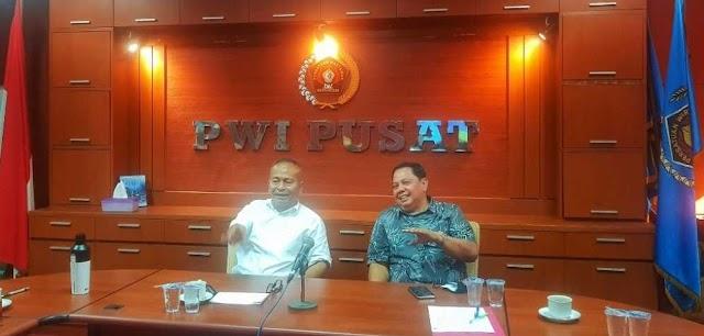 Jaga Independensi, PWI Pusat : Wartawan Jadi Tim Sukses Paslonkada Wajib Non Aktif