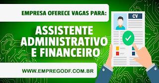 Assistente Administrativo e Financeiro