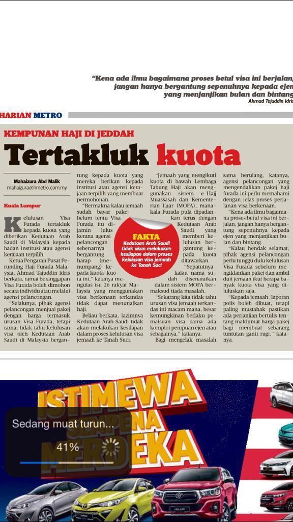 visa furada malaysia