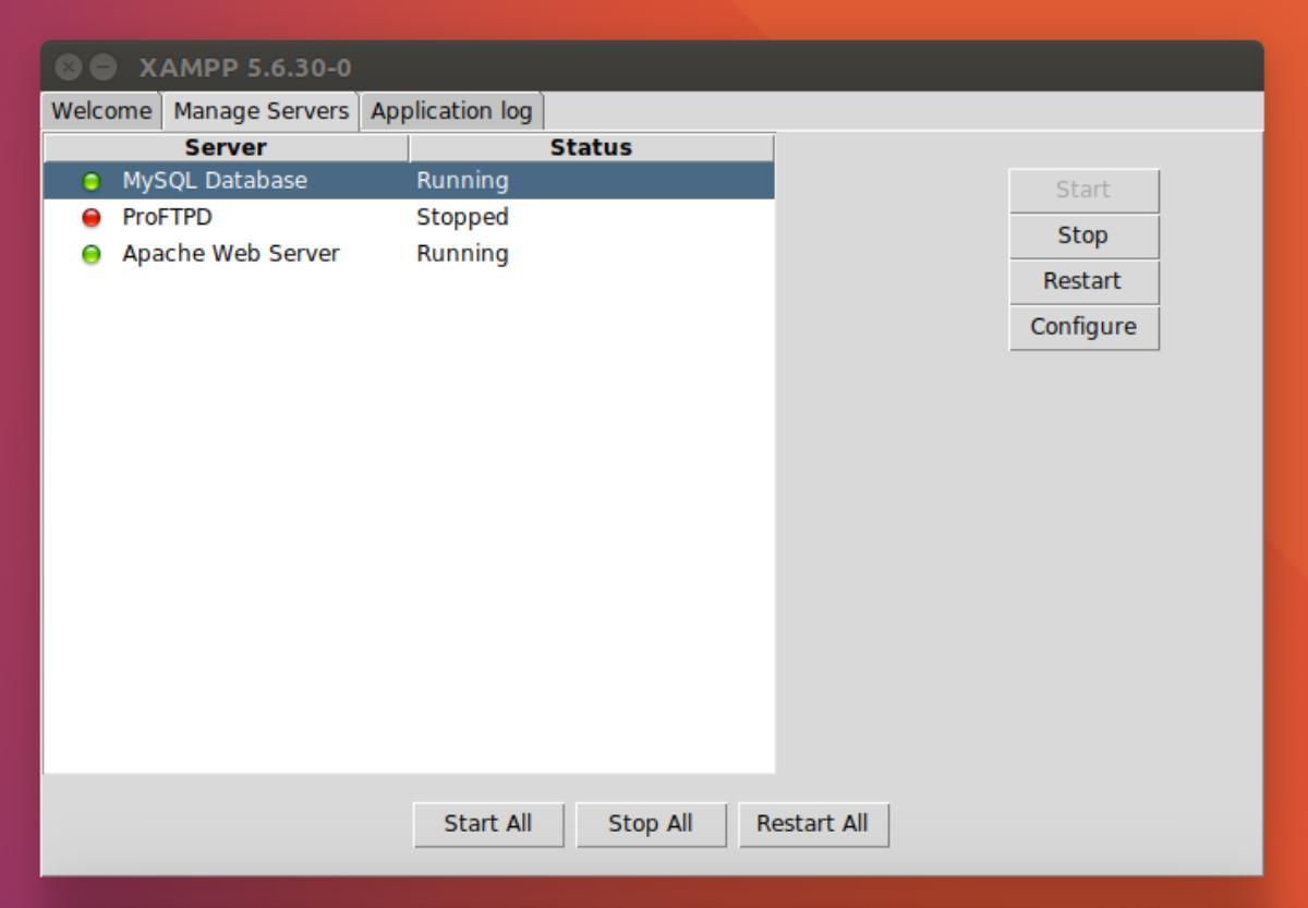 xampp server 64 bit