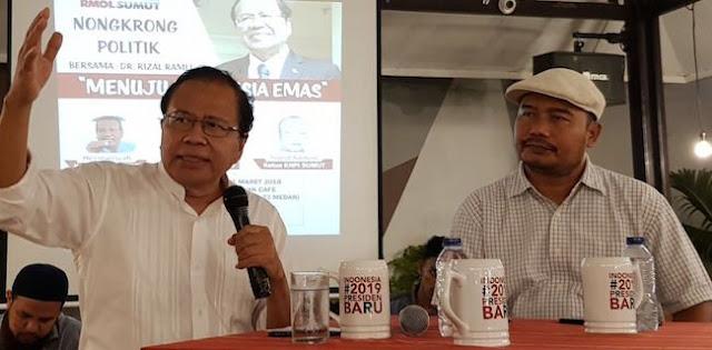 Rizal Ramli: Indonesia bisa Pecah Karena Kepemimpinan yang Lemah