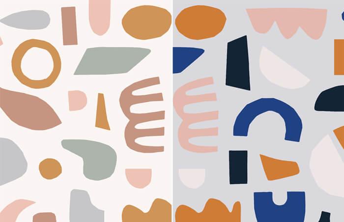 esempi carte da parati ispirate a Matisse