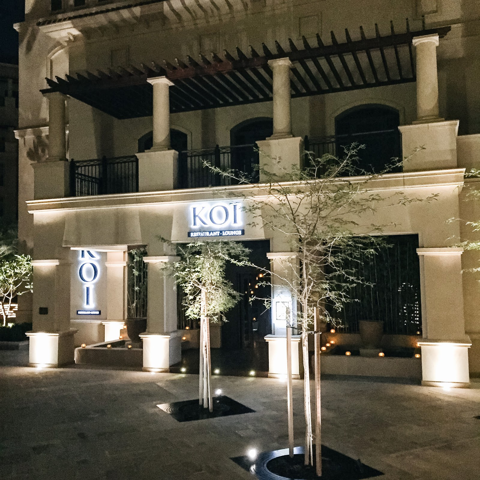 Abu Dhabi Koi Restaurant Review