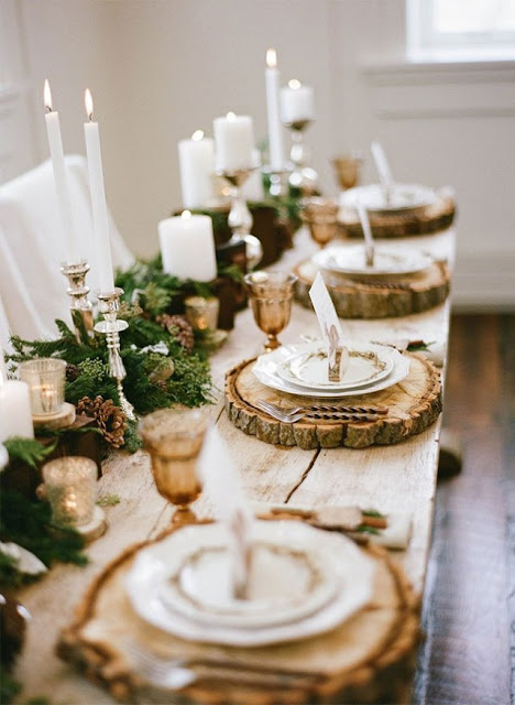 Romantic Fall Tablescapes