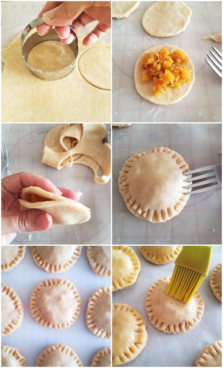 Cómo hacer los pastelitos de piña paso a paso