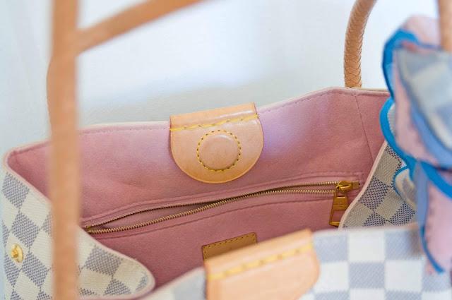 zamknięcie torebki Louis Vuitton magnes jak wygląda