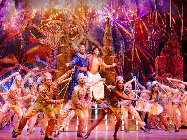 Aladdin The Hit Broadway Music ở singapore