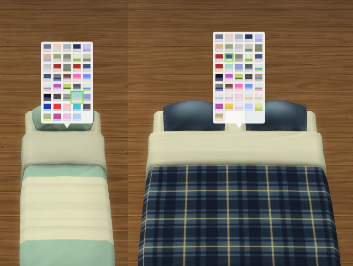 My Sims 4 Blog TextureReferencing Mattresses by plasticbox