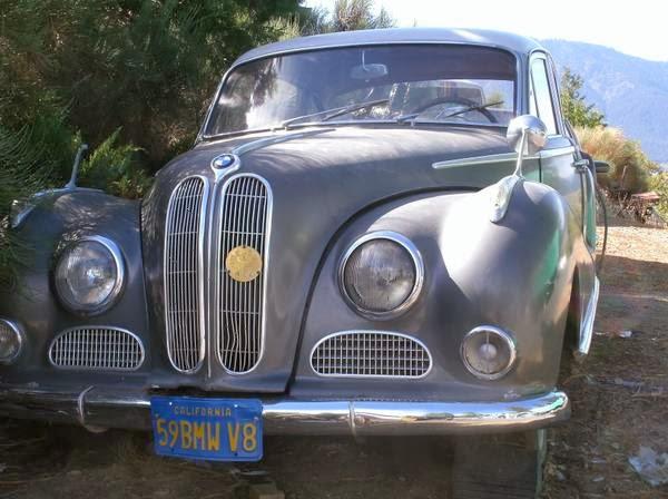 Daily Turismo: DTO: Broke Angel: 1959 BMW 502 3.2 Super