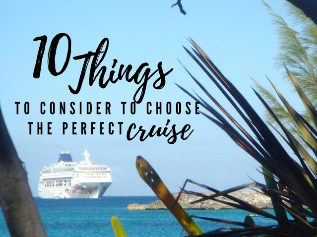 Title: 10 things to consider to choose the perfect cruise