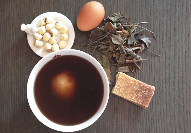 簡易方便・養生安胎糖水 - 桑寄生蓮子蛋茶 (附食譜)
