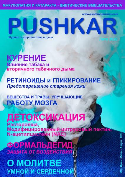 ЖУРНАЛ PUSHKAR #13 ЛЕТО 2020