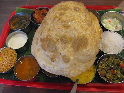 Madras New Woodlands Restaurant, vip thali