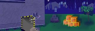 ilustracion videojuego escapando gaviota