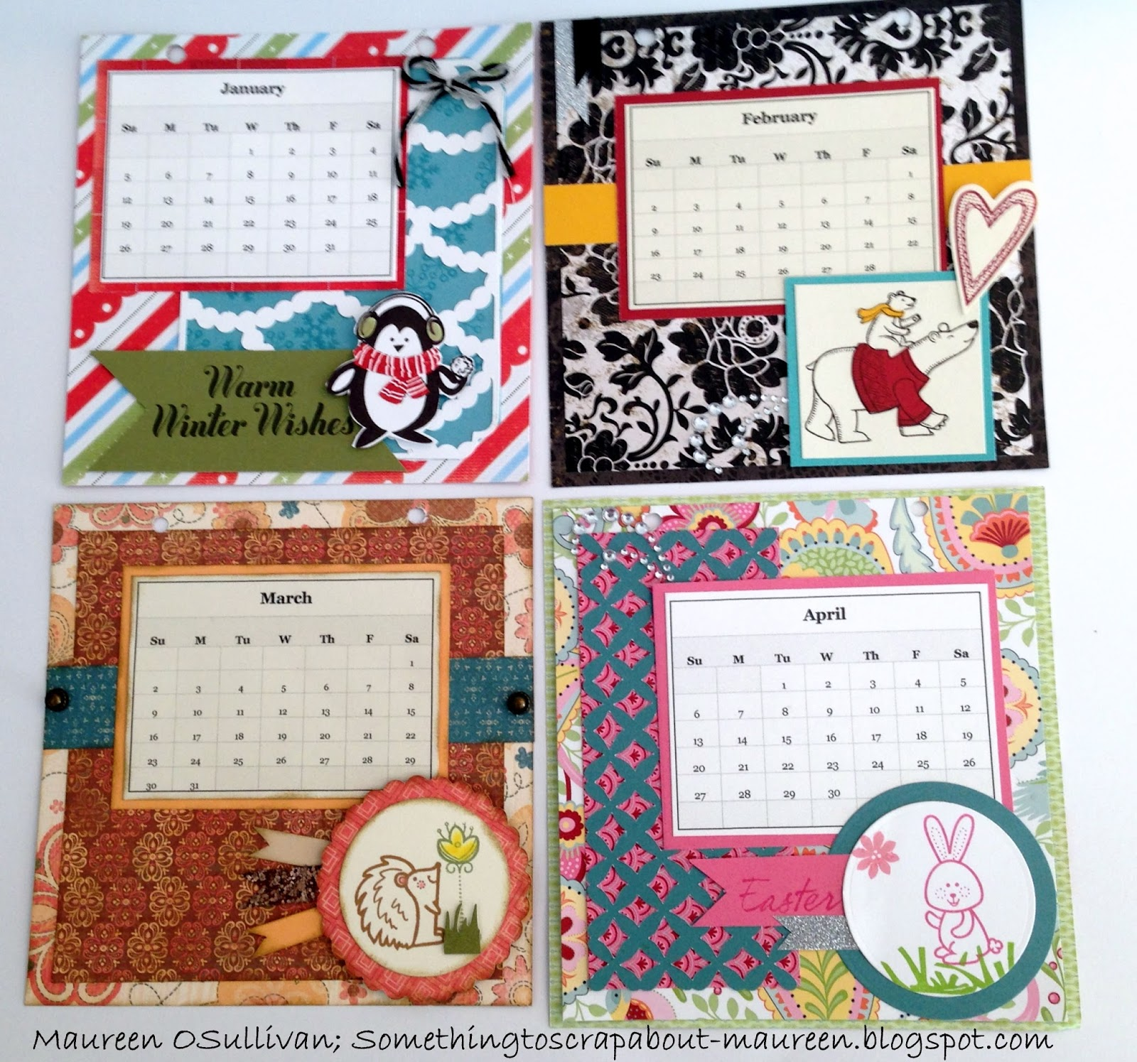 Let S Give Em Something To Scrap About Ctmh Desk Calendar Class November 10th My House
