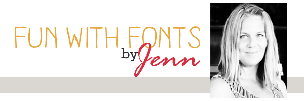 FUN WITH FONTS | GLYPHS