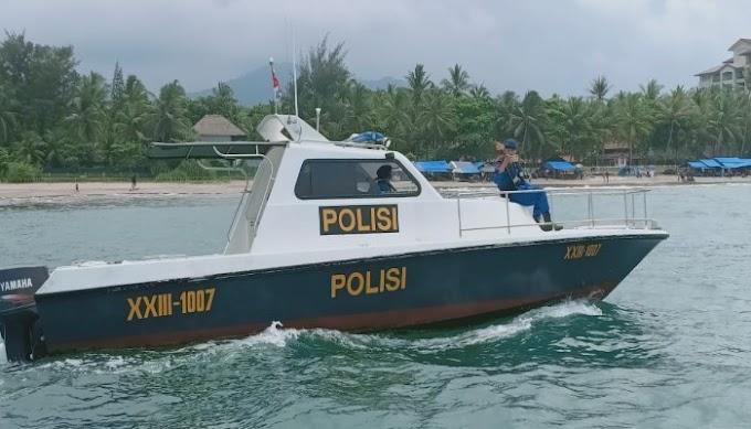 Ditpolairud Polda Banten Laksanakan Pengamanan dan Patroli di Perairan Objek Wisata Selama Libur Natru