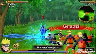 Naruto Shippuden Legends Akatsuki Rising ISO PSP ...