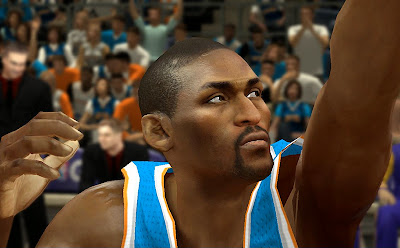 NBA 2K14 Metta World Peace Cyberface Mod