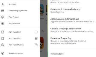 Ricerche Play Store