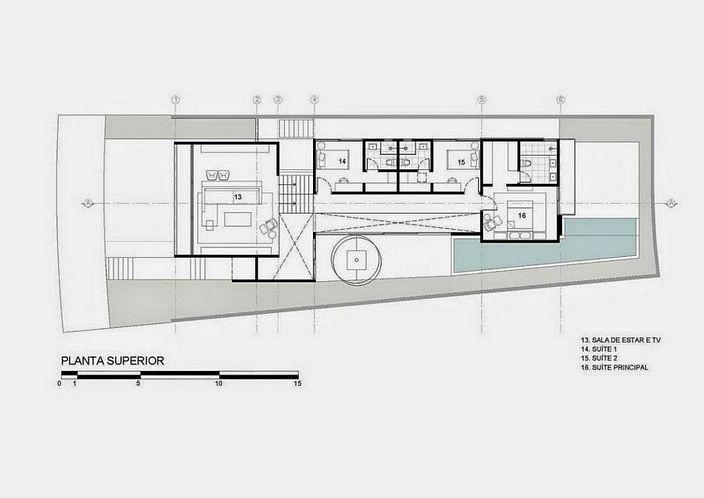denah rumah mewah modern yg terbaru