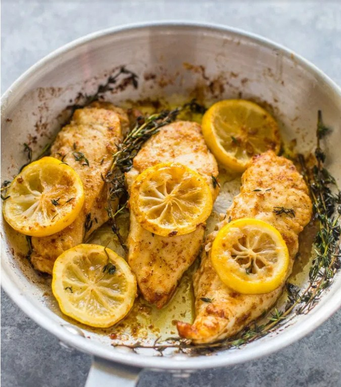 15 Minute Skillet Lemon Butter Chicken