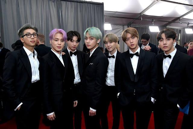 Grammy: BTS là nghệ sĩ Hàn Quốc đầu tiên bước trên thảm đỏ danh giá này
