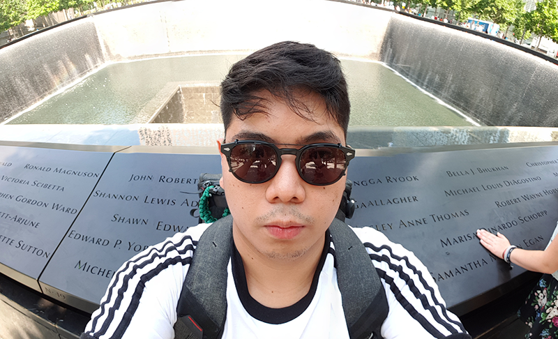 Pano selfie