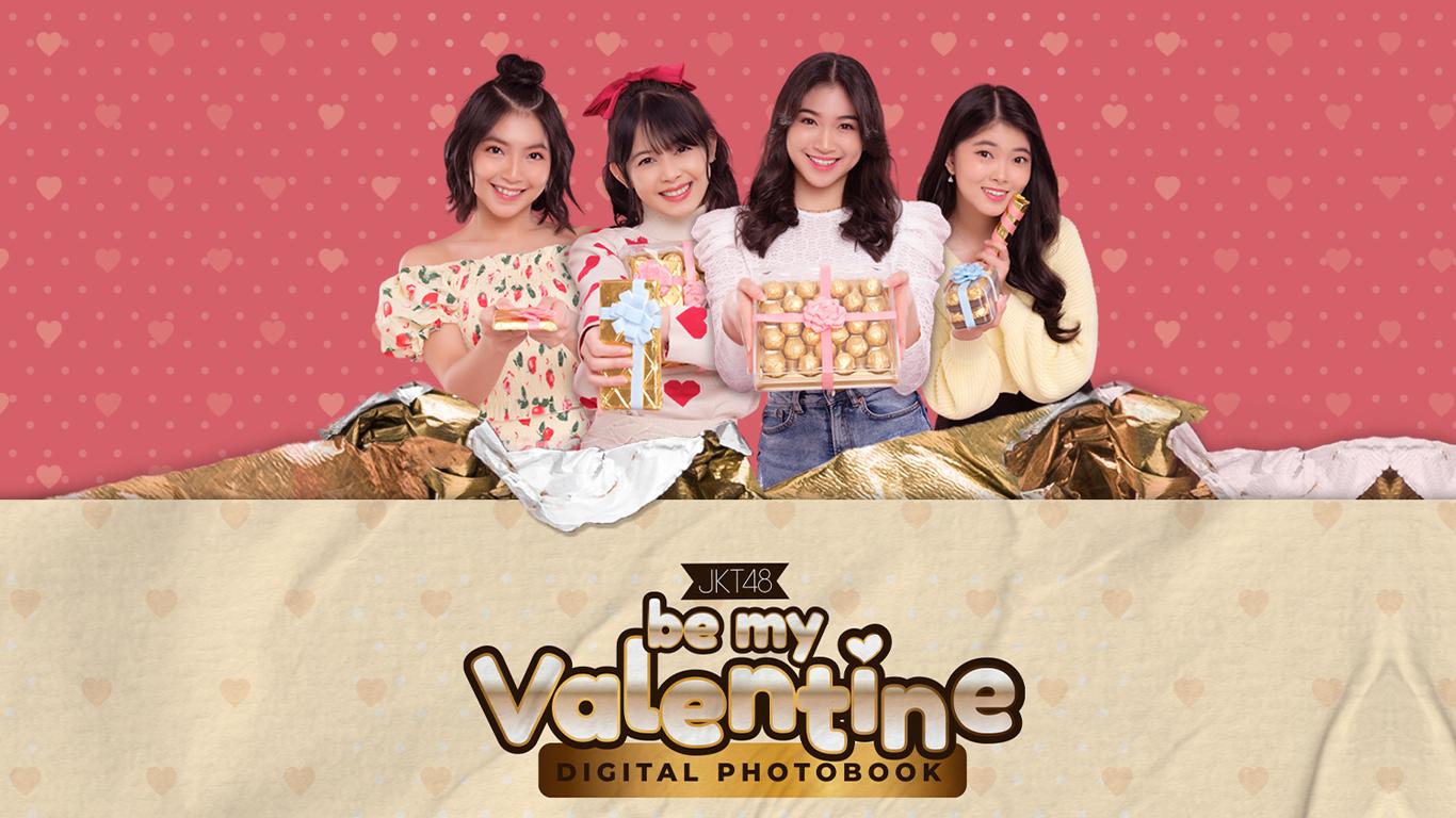 JKT48 Digital Photobook Be My Valentine