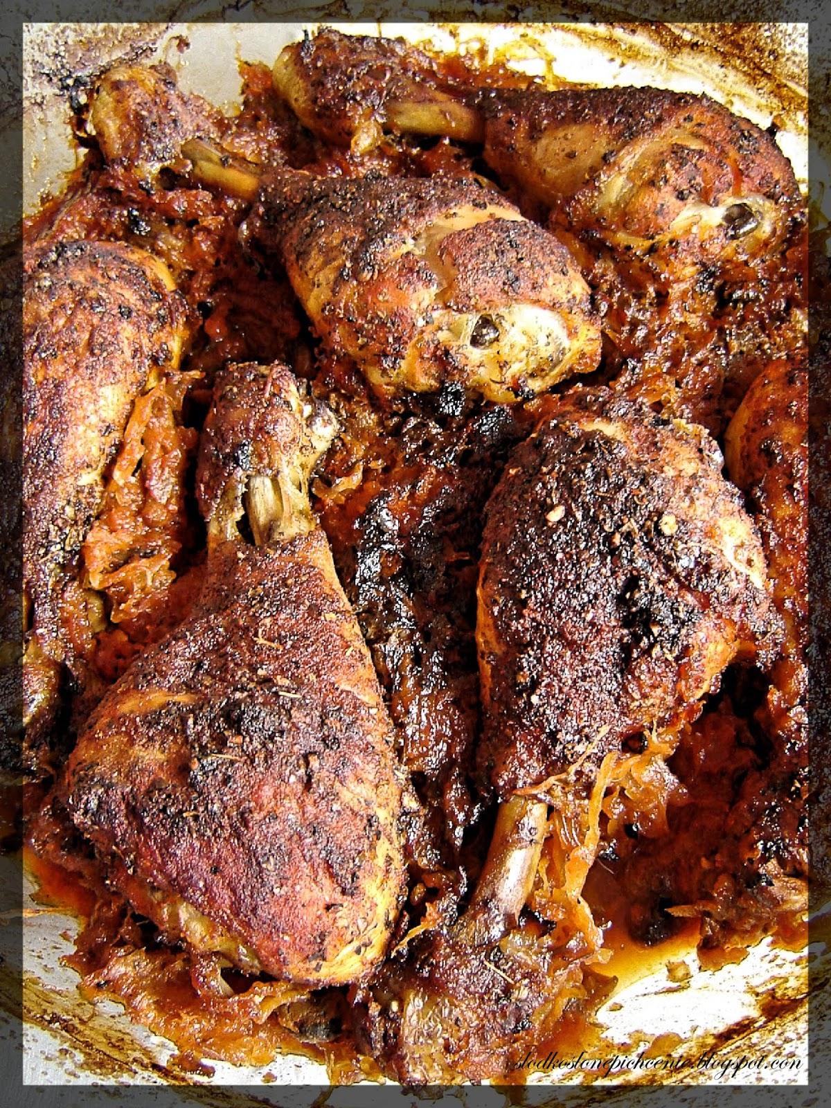 Kurczak po zbójnicku