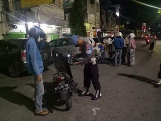 Operasi Mantap Praja 2020, Polres Pelabuhan Makassar gelar Razia Cipta Kondisi