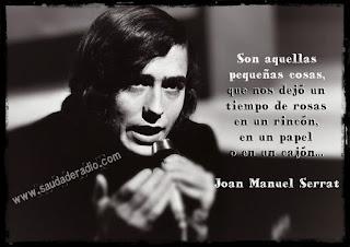 """""""Son aquellas pequeñas cosas, que nos dejó un tiempo de rosas en un rincón, en un papel o en un cajón."""" Joan Manuel Serrat - Aquellas pequeñas cosas"""
