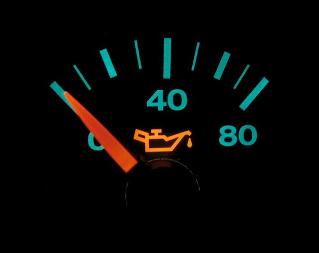 Causes de la basse pression d'huile