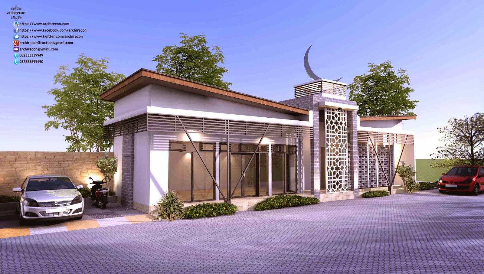 Rumah Minimalis Surabaya Mushola
