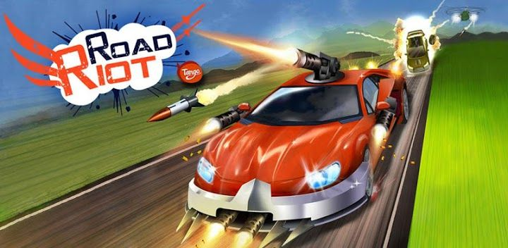 تحميل لعبة road riot مهكره للاندرويد اخر اصدار