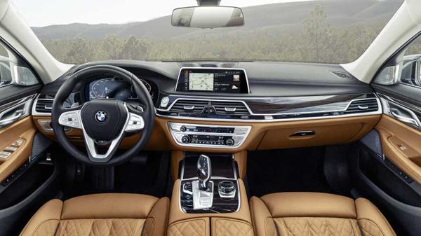 2019 BMW 7 Serisi İç Mekan