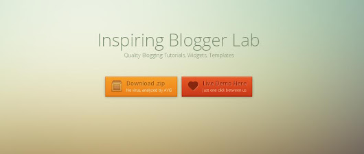 ANIMATED DOWNLOAD BUTTON FOR BLOGGER ~ Inspiring Blogger