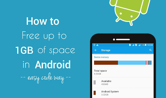 Free space in Android internal memory