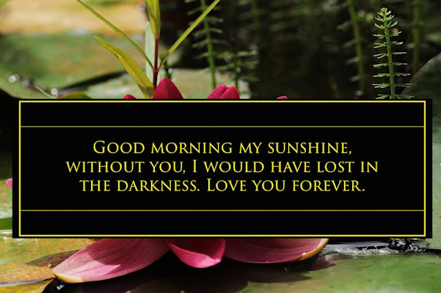 True love morning quotes for her