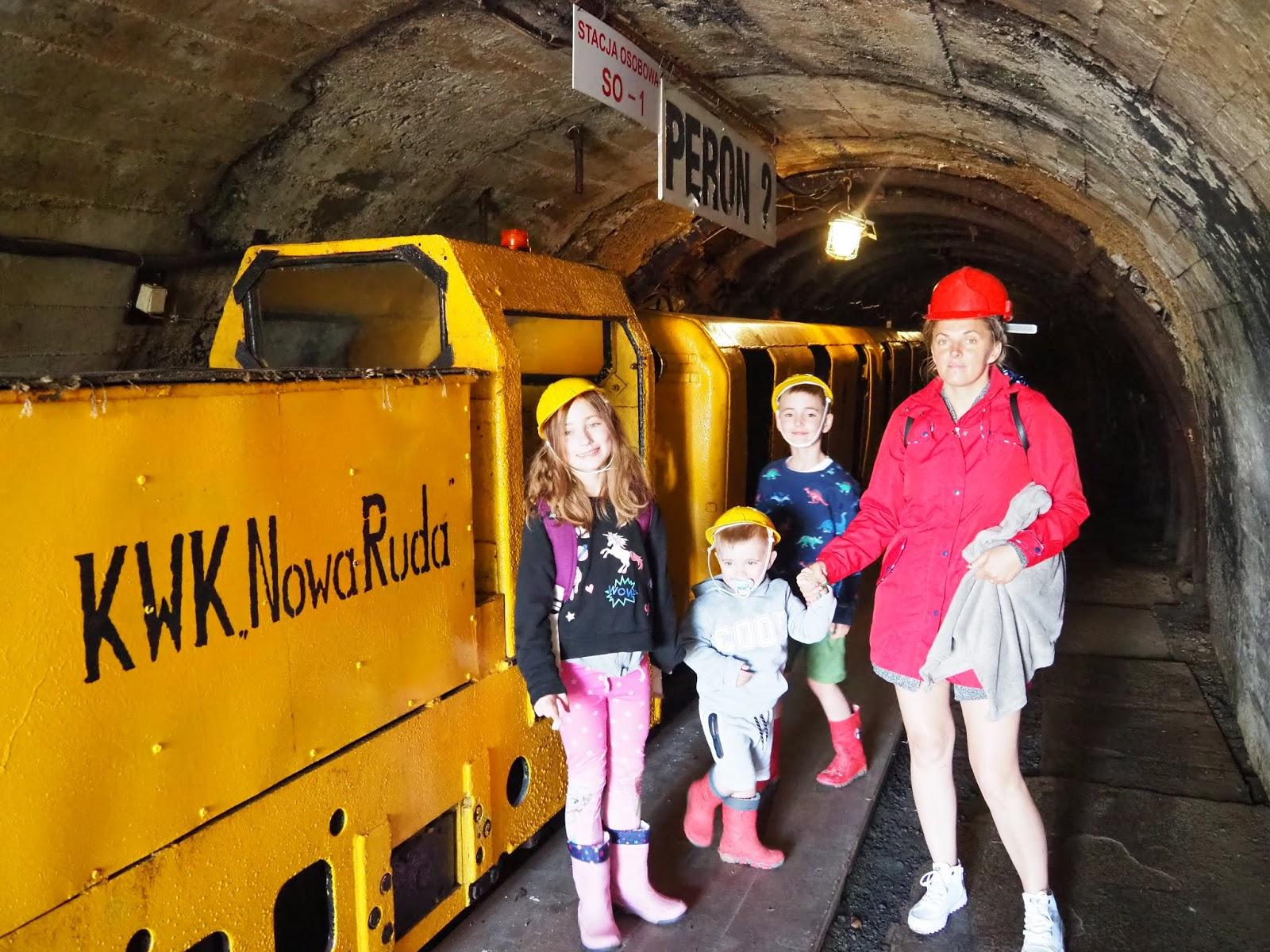 Podziemna trasa kopalnia węgla nowa ruda