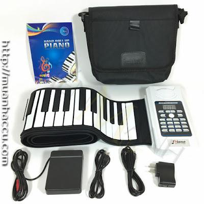 Bán Đàn Piano 88 phím cuộn mềm BR-05-88