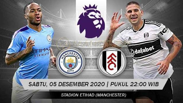 Prediksi Manchester City Vs Fulham, Sabtu 05 Desember 2020 Pukul 22.00 WIB @ Mola TV