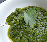 Image result for sage pesto photos