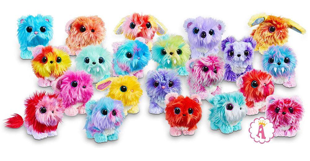 Вся коллекция миниатюрных питомцев Little Live Scruff-a-Luvs Babies