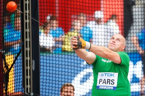 Atlétikai vb - Pars Krisztián 73 méterig jutott a selejtezőben