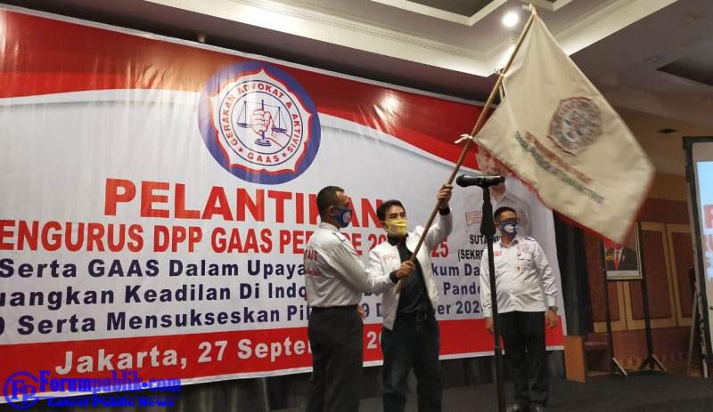 Ketum DPP GAAS: Pilkada Harus di Lanjutkan Agar Regenerasi Terus Berjalan