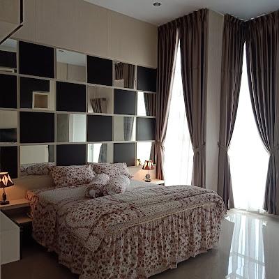Kamar Tidur Utama Villa Citra Mandiri Medan