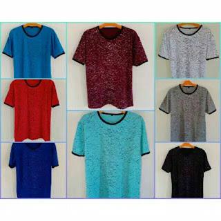 Grosir Kaos Polos Bahan Spandek Online di Ciamis