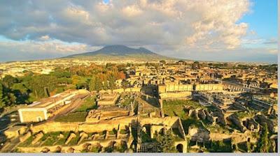 Kota Pompeii Romawi Kuno